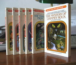 """""""Choose Your Own Adventure"""" books"""