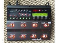 Tc Electronics Nova System Guitar Multi Effects Unit