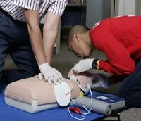 CPR and First Aid Classes starting Mon  or Sat!