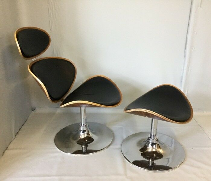 Magnificent Danish Designer Contemporary Lounge Chair Stool Dan Form Curve In Bournemouth Dorset Gumtree Caraccident5 Cool Chair Designs And Ideas Caraccident5Info
