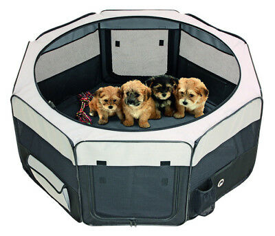 Karlie - Smart Top Salón - Cachorros Parque - 116x116x48CM - Negro/Gris