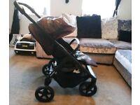 Mini Stroller and Bassinet