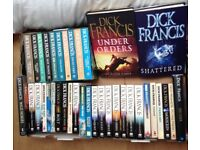 37 x Dick Francis books.