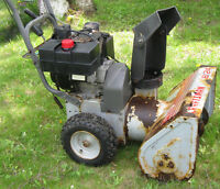 CRAFTSMAN SNOWBLOWER (Consider trade for  15 in laptop)