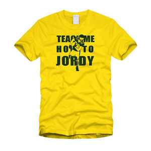 Teach me how to jordy nelson packers nfl t shirt