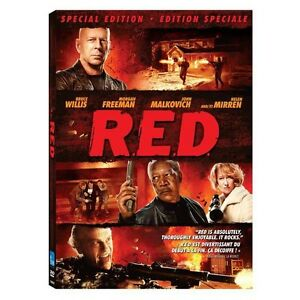 R.E.D. SPECIAL EDITION - New Factory Sealed DVDs
