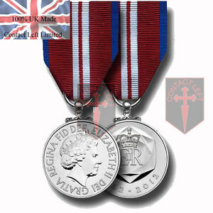 In-Stock-Official-Queens-Diamond-Jubilee-Miniature-Medal-and-Ribbon-Posting-Now