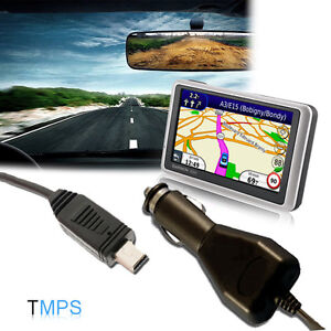 NEW In Car Charger / Power Lead for Garmin nuvi Sat Navs MINI USB