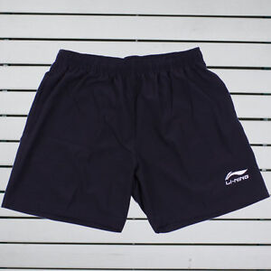 2012 Li-Ning / LiNing China Badminton Team Men's Shorts, Black, New