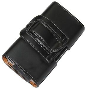 NEW LEATHER WALLET CASE COVER HOLSTER WITH BELT CLIP FOR APPLE IPHONE 4S 4G UK