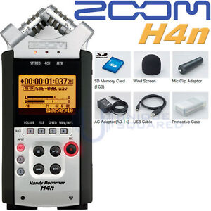 Zoom H4n H4 n Digital Recorder NEW FREE NEXT DAY AIR
