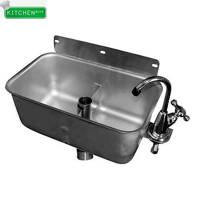 Nsf sink owner 39 s guide to business and industrial equipment - Stainless steel table with sink and faucet ...