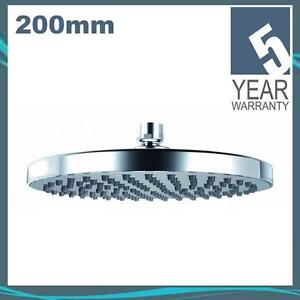 Chrome Plated Round 200mm Shower Head with Swivel Joint HEA6043