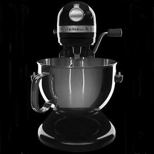 NEW-Kitchenaid-KP26M1Xcv-Pro-600-Stand-Mixer-6-qt-Black-Super-Big-Large-Capacity