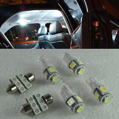 White 8 Lights SMD LED Interior Package Kit For Toyota Landcruiser PRADO 2010+