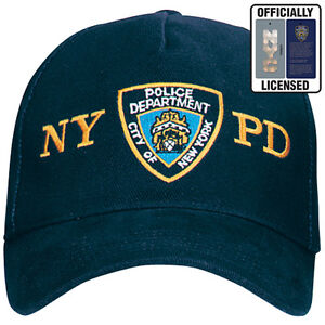 NYPD-Badge-New-York-City-Police-Dept-Ball-Cap-Hat-FREE-SHIPPING