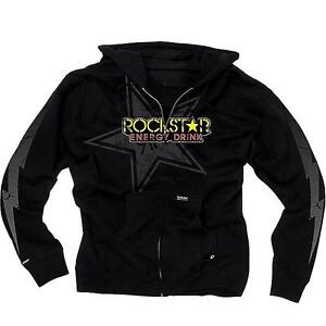 One Industries ROCKSTAR LIGHTNING Mens L Large Zip Hoodie Sweatshirt New