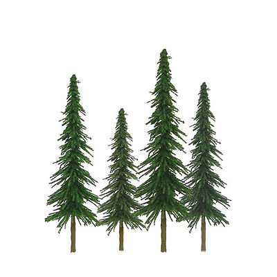 "JTT SCENERY 92025 SUPER SCENIC SPRUCE TREES 1"" to 2""  Z-SCALE 55/PK  JTT92025"