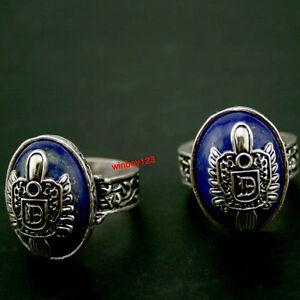 Vampire-Diaries-Salvatore-S-Damon-D-Crest-Lapis-Lazuli-Ring-SZ-8-9-10