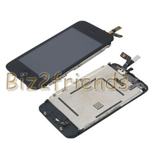 For iPhone 3Gs LCD Display with Touch screen digitizer Full Assembly