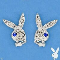 BRAND NEW PLAYBOY EARRINGS WITH GENUINE CRYSTALS