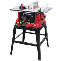 TABLE SAW 10 INCH INCLUDING STAND