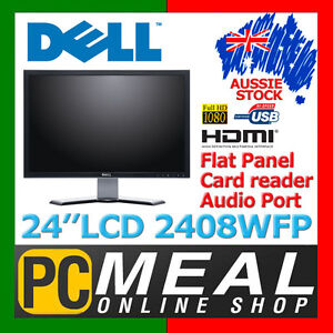 Dell-UltraSharp-2408WFPb-24-LCD-Monitor-16-10-Widescreen-HDMI-DVI-USB-Full-HD