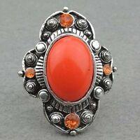 adjustable orange ring---NEW!!
