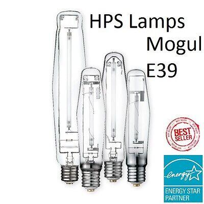 Hps High Pressure Sodium Mogul Bulb   Lu 200 250 310 400 430 600 1000 W Watt  