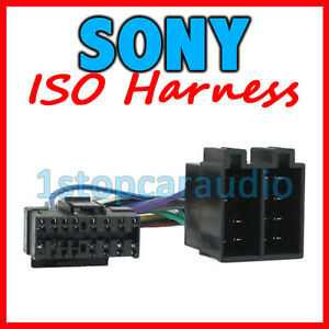 SONY to ISO WIRING HARNESS lead wire aftermarket