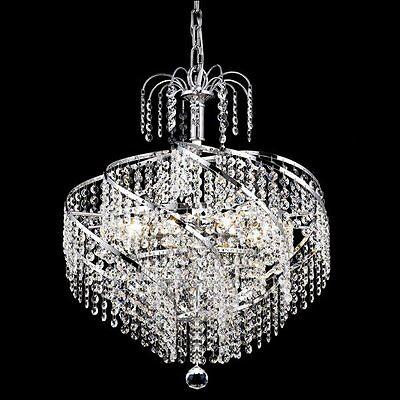 Palace Spiral 6 Light Crystal Chandeliers Light Lighting C -precio Mayorista