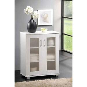 aspen two door floor unit cupboard laundry bathroom