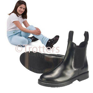 childrens-horse-riding-jodhpur-jodphur-boots-all-sizes-black-and-brown-leather