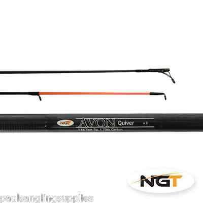 Ngt 11ft Barbel Avon Fishing Rod Twin Tip