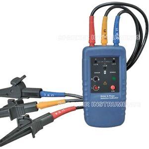 Cem dt 902 motor three 3 phase rotation indicator tester 1 for 3 phase motor rotation