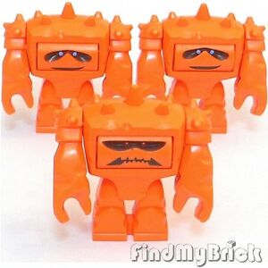 M519x3-Lego-Toy-Story-Chunk-Orange-Monster-Minifigures-Lot-of-3-NEW-7597-7598