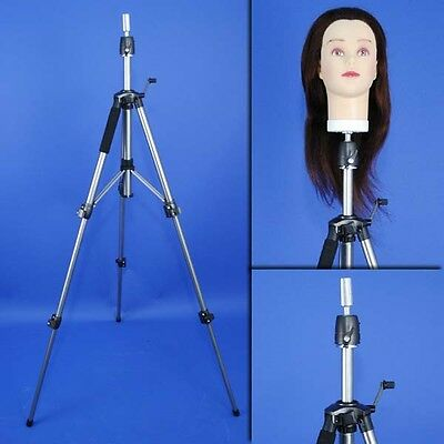 Brand Universal Cosmetology Mannequin Head Doll Tripod Holder Stand