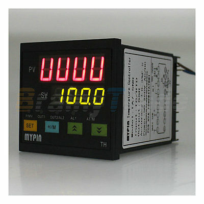 New Digital Pid Temperature Input K J S E Ssr Output Controller Thermocouple