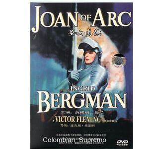 Joan of Arc, Ingrid Bergman, 1948, DVD New