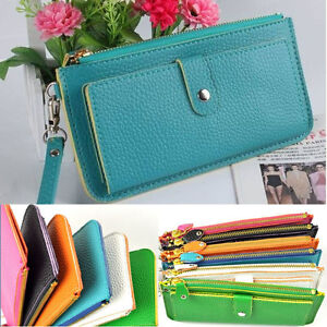Fashion-Ladies-Womens-Purse-Card-Bag-Clutch-Handbag-PU-Leather-Wallet-Holder-New