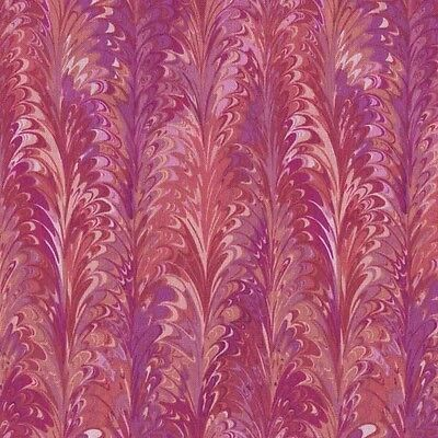 Flower Mart Tropical Pink Florentine Cotton Fabric Bty For Quilting, Craft, Etc