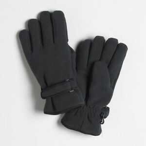 Joe-Boxer-Mens-Fleece-40g-Thinsulate-Ski-Gloves-Black-Grey-or-Camouflage-Camo