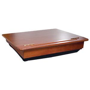Old School Wooden Lap Desk With Storage Ebay