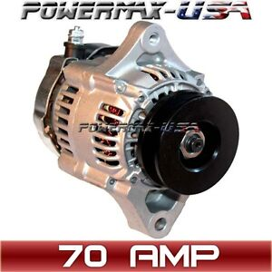 MINI Alternator DENSO STREET ROD RACE 1-WIRE NEW 70Amp