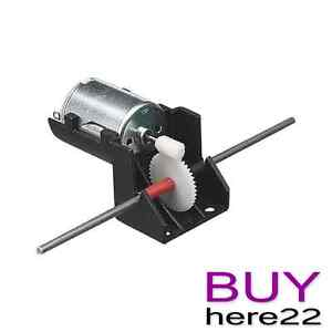 Electric Motor with Worm Drive Gearbox Hobby Modelling Model Education Brand New