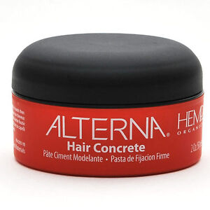 BRAND NEW 2 oz ALTERNA HEMP HAIR CONCRETE 50g x1