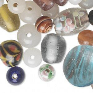 75 beads new wholesale bulk lot handmade lampwork glass. Black Bedroom Furniture Sets. Home Design Ideas