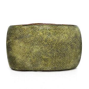 Olive-Shagreen-Minaudiere-Evening-Bag
