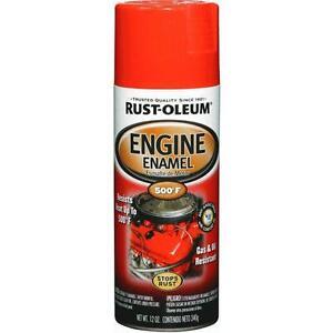 Rust Oleum High Temp Engine Spray Paint Chevy Orange