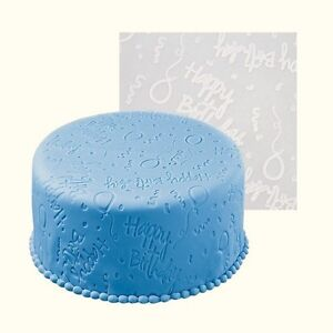 20x20-LARGE-HAPPY-BIRTHDAY-FONDANT-ICING-EMBOSSING-MAT-IMPRINT-TEXTURED-CRAFT